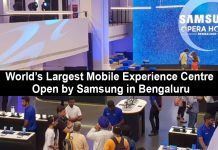 Samsung Opens World's Largest Mobile Experience Center