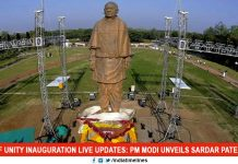PM Unveils Sardar Patel's 2900-Crore Statue Of Unity Today
