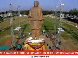 PM Unveils Sardar Patel's 2900-Crore Statue Of Unity Today