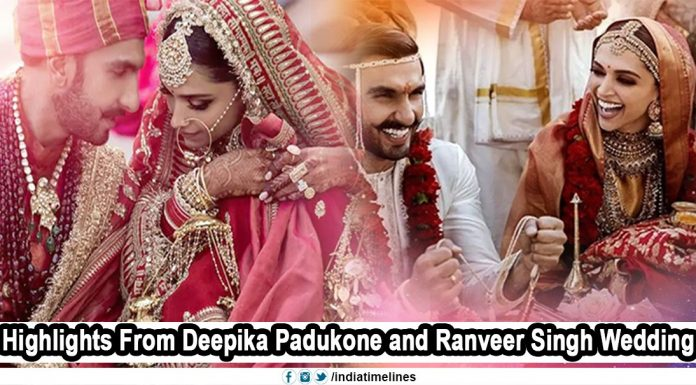 Deepika Padukone Ranveer Singh Wedding Updates