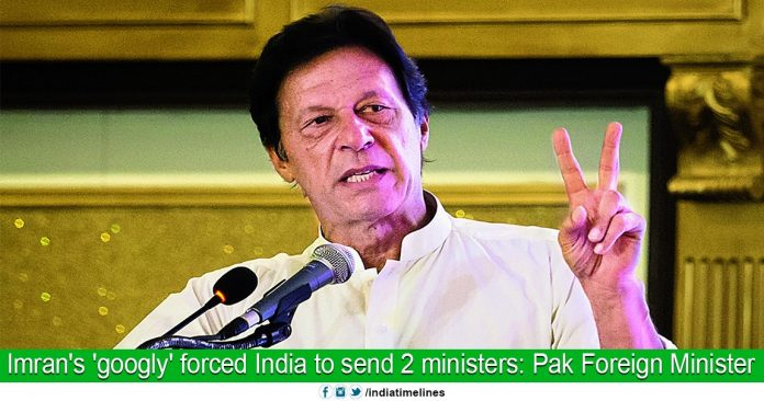 PM's 'Googly' Forced India to Send Minister