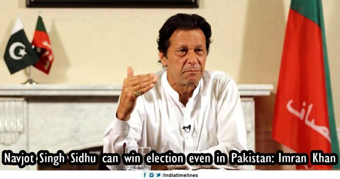 Navjot Singh Sidhu can win election even in Pakistan