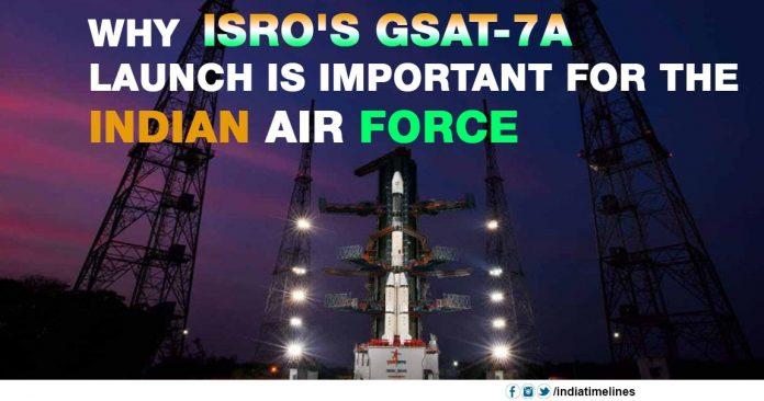 Isro's GSAT-7A launch