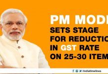 PM Modi Declare Stage For Reduction In GST Rate On Some Items
