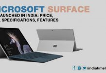 Microsoft Surface Go launched in India