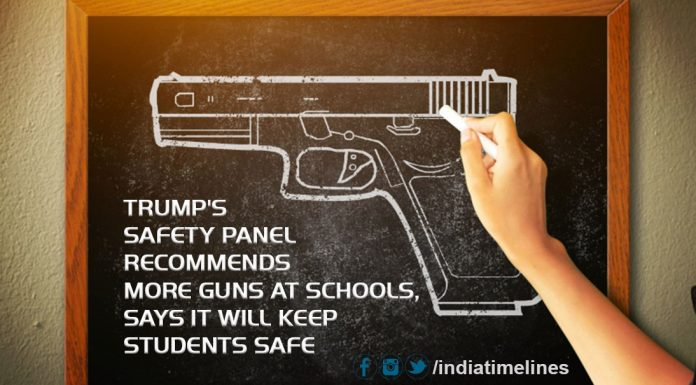 Trump's safety panel recommends guns at schools