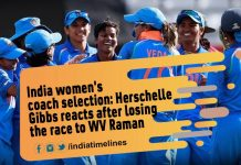 India women's coach selection