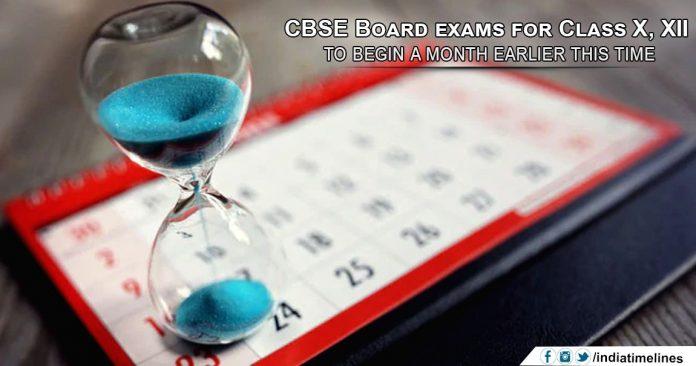 CBSE Class X & XII Date Exam Sheet 2019