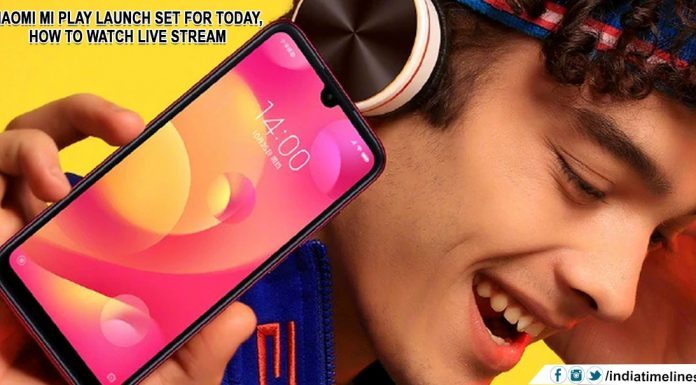 Xiaomi Mi Play Launch Set for Today