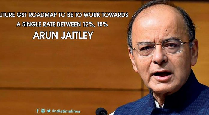Future GST Roadmap To Be To Work Towards A Single Rate