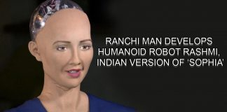 Ranchi man develops humanoid robot Rashmi