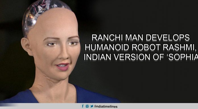 Ranchi man develops humanoid robot Rashmi