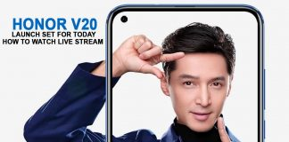 Honor V20 Launch Set for Today