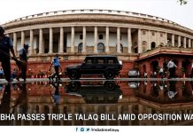 Lok Sabha passes triple talaq bill amid opposition walkout