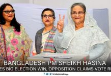 Bangladesh PM Sheikh Hasina scores big election win