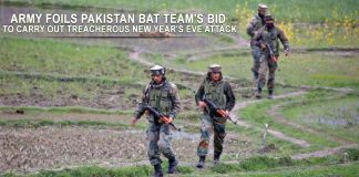 Army foils Pakistan BAT team's bid to carry out New Year's Eve attack