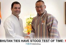 India announces help of Bhutan to the tune of Rs 4500 crore