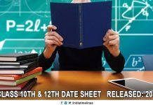 CBSE Class 10th and 12th Date Sheet Released
