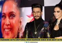 Ranveer Singh Won Best Actor Award