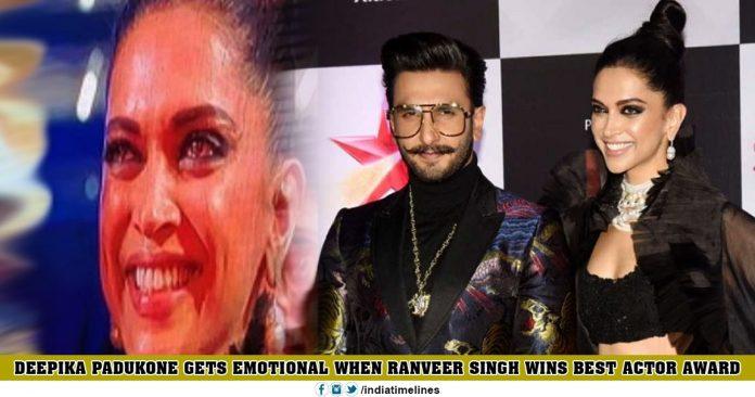 Ranveer Singh Won Best Actor Award
