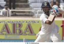Highlights India Tour of Australia