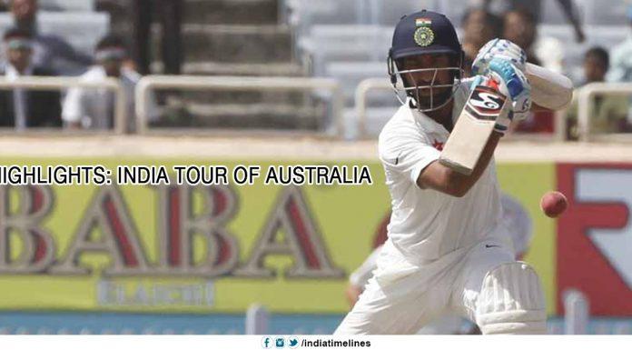 Highlights India Tour of Australia