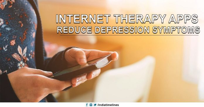 Internet Therapy Apps reduce Depression Symptoms