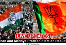 Rajasthan and Madhya Pradesh Election Results 2018