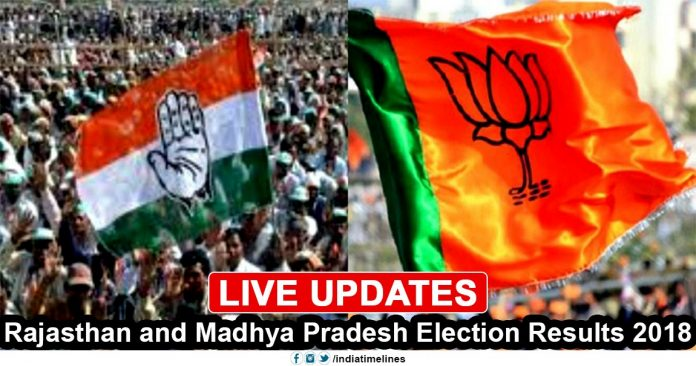 Rajasthan and Madhya Pradesh Election Results 2018