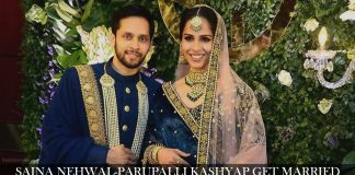 Saina Nehwal-Parupalli Kashyap Wedding