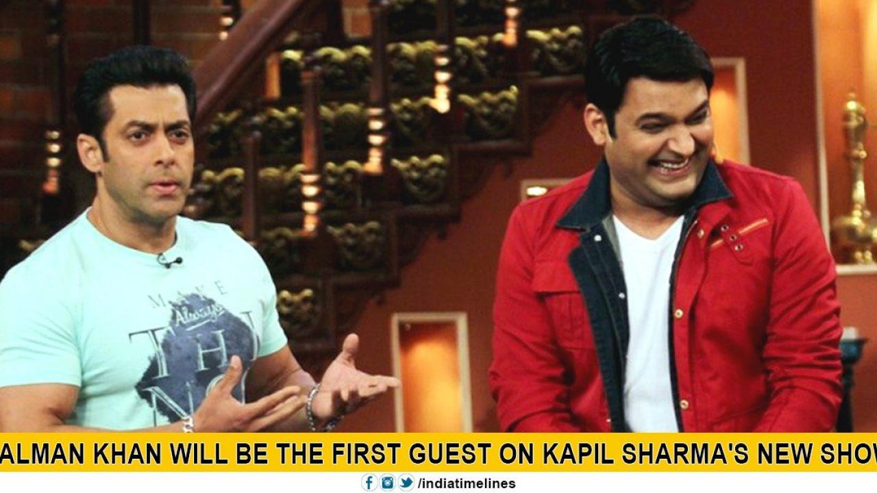 Kapil Sharma New Show: Salman Khan will be the first Guest