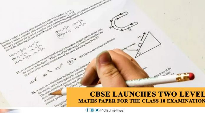 CBSE launches two level Maths Paper for the Class 10 examination