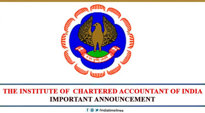 The Institute of Chartered Accountant of India