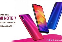 Xiaomi says the Redmi Note 7 stock will hit 1 million units this January