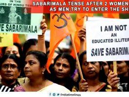 Sabarimala tense after 2 women- dressed as men