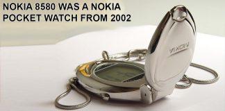 Nokia 8580 Nokia Watch