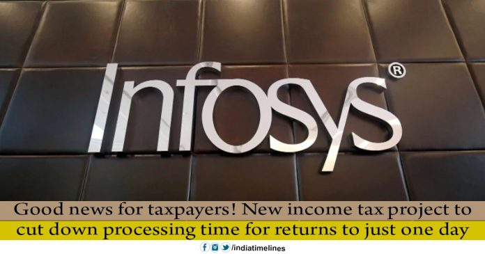 Your income tax return will soon be processed in one day