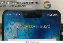 Google Pixel 3 Lite XL with Snapdragon 710