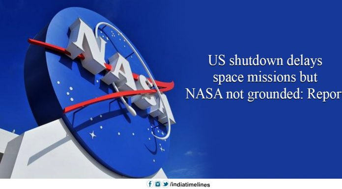 US shutdown delays space missions but NASA not grounded