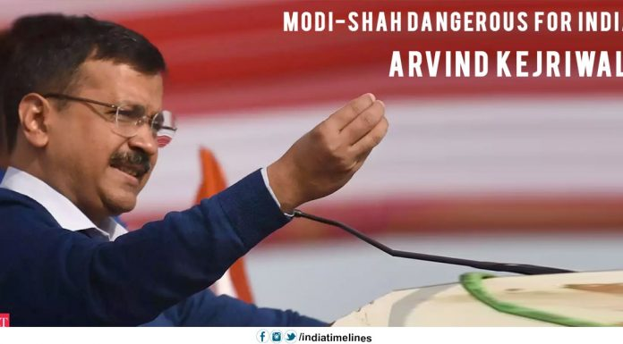 Arvind Kejriwal Says 'Modi-Shah Dangerous for India'