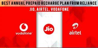Best annual prepaid recharge plan