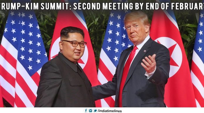 Trump-Kim summit - Second meeting by end of February