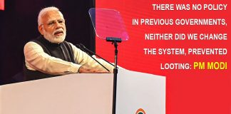 PM Modi targets Congress at NRI meet