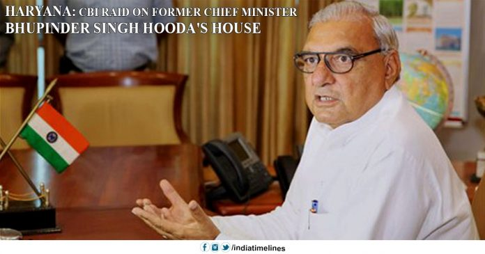 cbi raids, cbi raids bs hooda, former haryana chief minister
