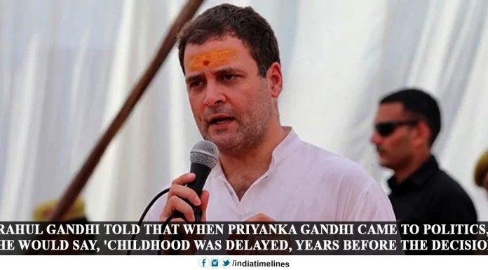 Priyanka Gandhi enters politics