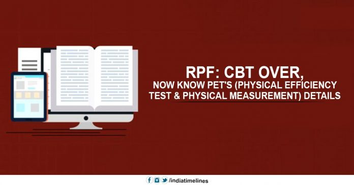 RRB Group D Physical Efficiency Test Details