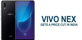 Vivo NEX gets a price cut in India
