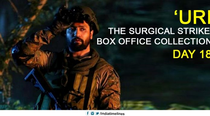 Uri The Surgical Strike box office collection Day 18