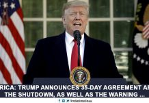 Trump announces 35-day agreement after the shutdown