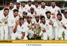 India register maiden Test series victory in Australia